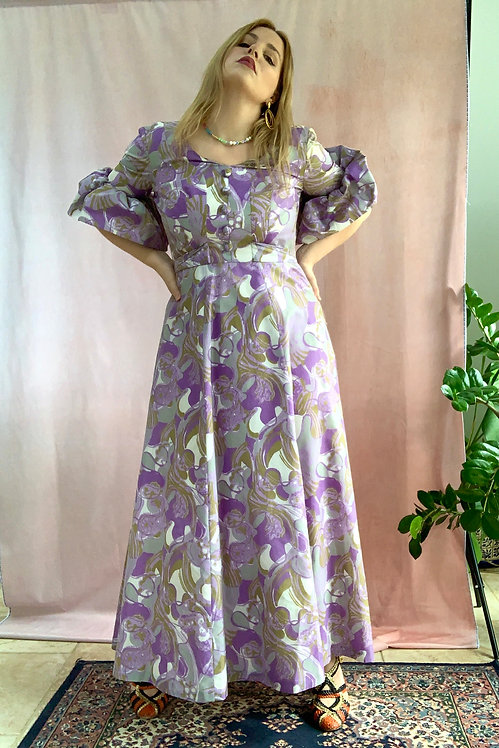 Archive 10 - 1960s Maxi Dress by Ricci Michaels