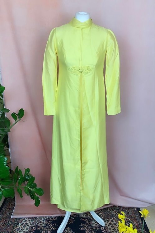 Goldie - 1960s Maxi Dress & Jacket Co-Ord