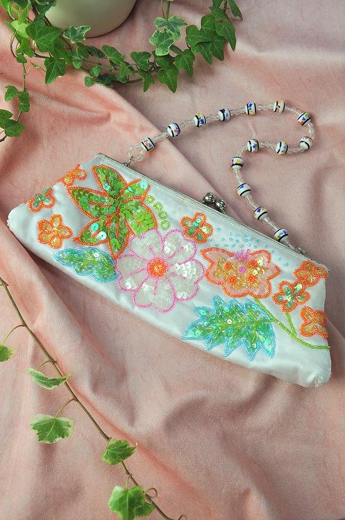 Vintage Colourful Embellished Bag