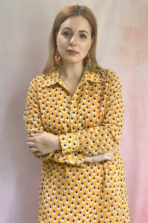 Dandelion - 1970s Shirt Dress