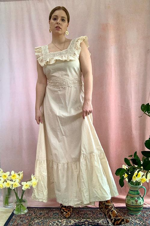 Jemima - Vintage 1970's Cotton Dress