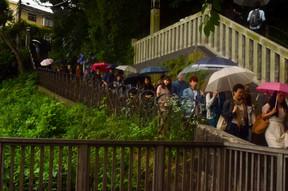Enoshima Umbrellas