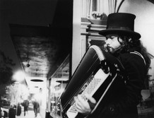 Street Musician, Claremont