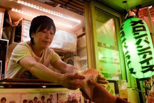 Osaka Street Vendor