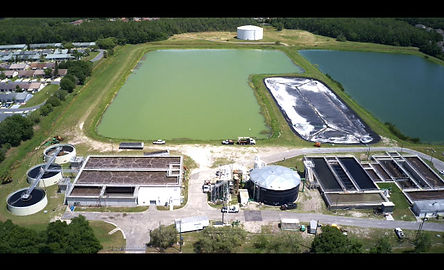 Lite Wing Drone Tampa Bay Wastewater Treatment