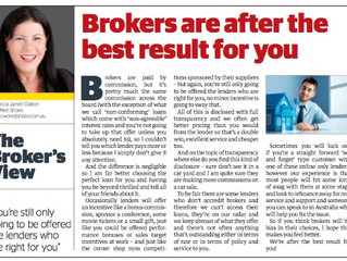 Myth busting: Brokers choose their loans based on commission. Rubbish.