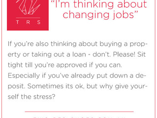 Changing jobs - reader question