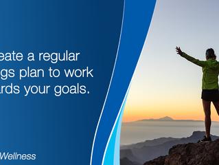 Create a plan & work towards your goals