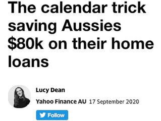 The calendar trick saving Aussies $80k on their home loans