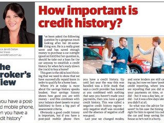 How important is an established credit history?