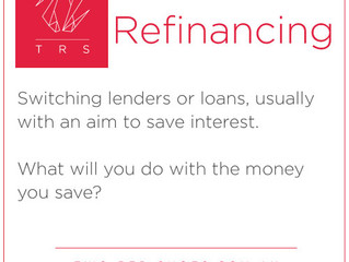 What does refinance a loan mean?