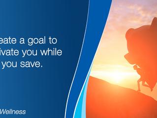 Create a goal to motivate you while saving