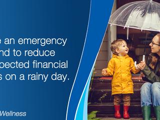 Saving for a rainy day has never felt more relevant.