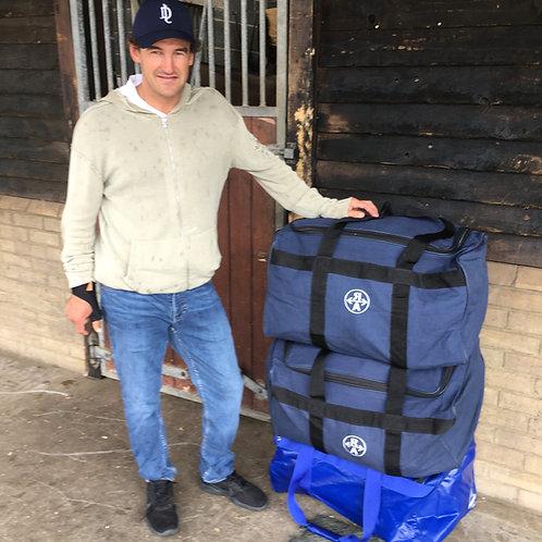 Ainsley saddle bag, PVC or canvas (2 saddles)