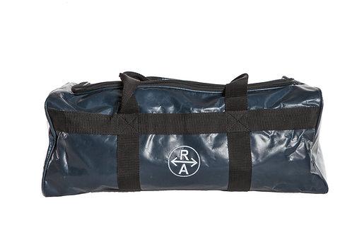 Ainsley saddle bag, PVC, blue (3 saddles)
