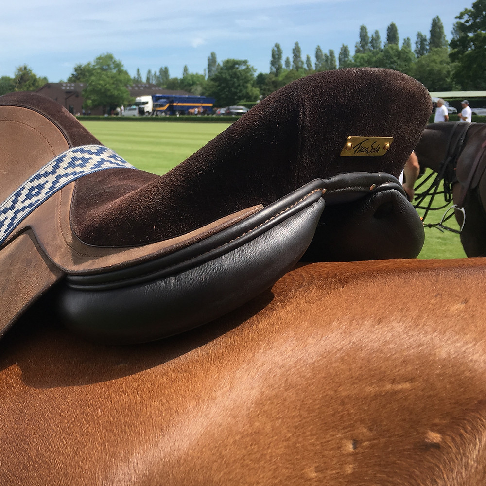 MVP polo saddle - perfect fit without overtighteniing the girth