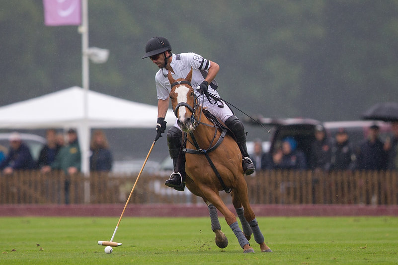 Facundo Pieres plays in the MVP saddle