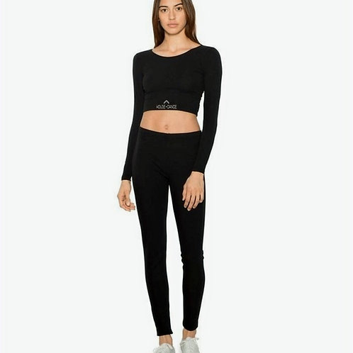 Croptop lange mouw HOD Adults only