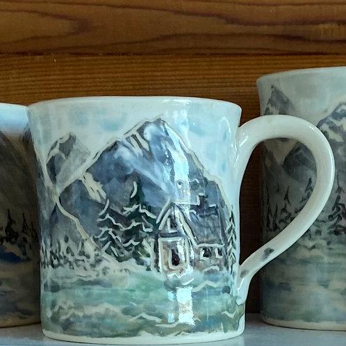 Mountain Mugs at Tix on the Square, Edmonton.