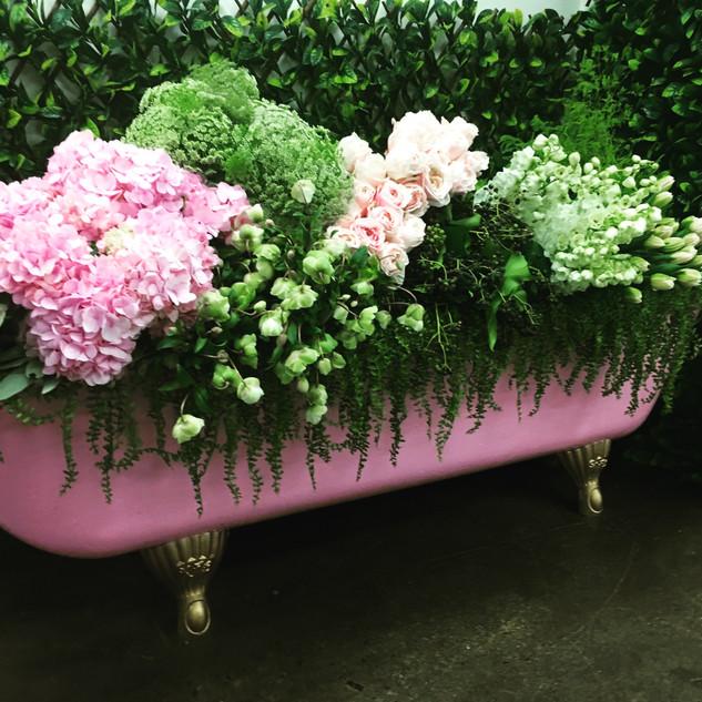Bath Flower Display