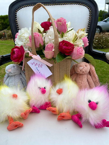 Jellycat Fluffy Crazy Chicks