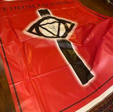 Maria Todaro's futuristic order's flag
