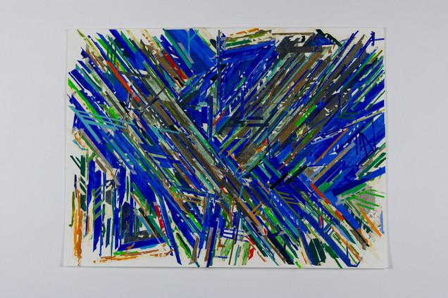 Painter's Tape Blue - March 2020