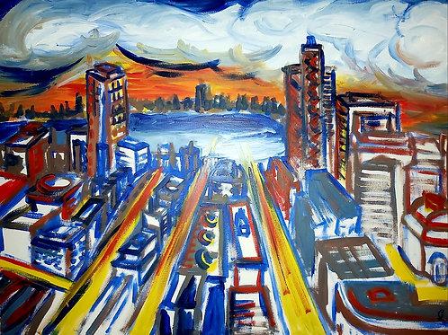 Big city life 2, 40x60