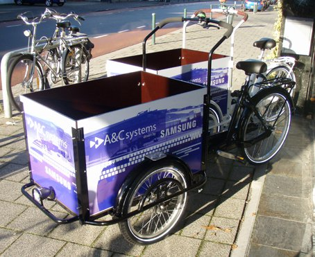 Graphics bakfiets