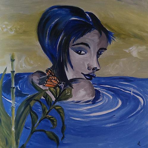 Lizzy - schilderij 40x40