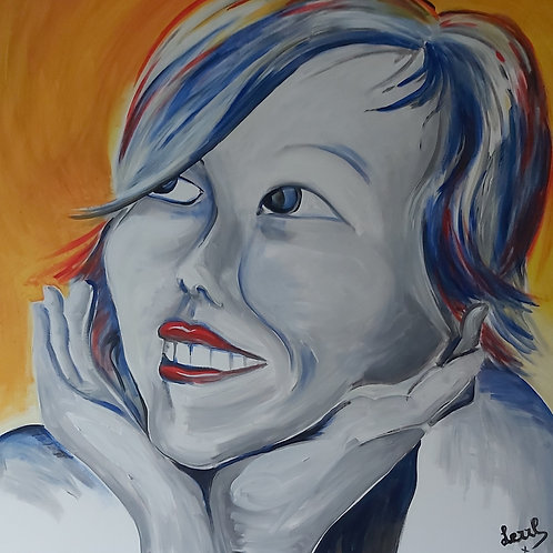 Lezzl zelfportret 110x110