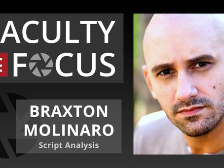 Braxton Molinaro: Faculty in Focus