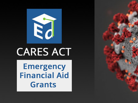 CARES Act Emergency Financial Aid Grants Now Available