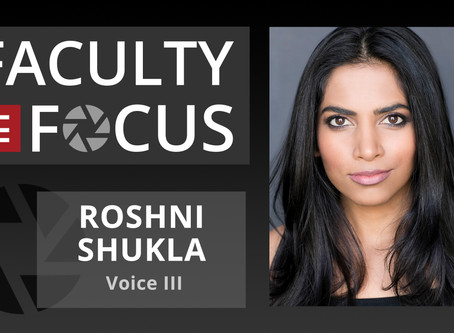 Roshni Shukla: Faculty in Focus
