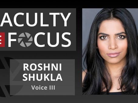 Roshni Shukla: Faculty in Focus