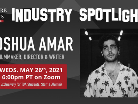 Industry Spotlight With Joshua Amar