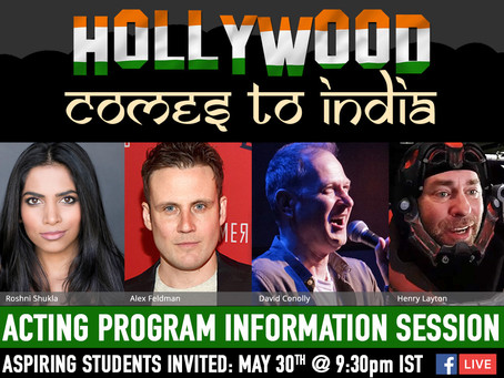 """""""Hollywood Comes To India"""" Online Open House"""