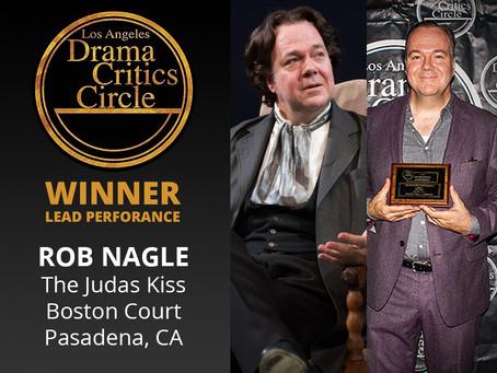 Rob Nagle Wins LADCC Award for Lead Performance