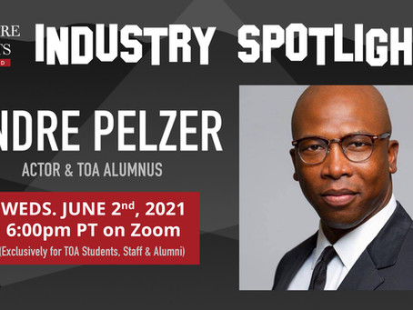 Industry Spotlight with Actor Andre Pelzer
