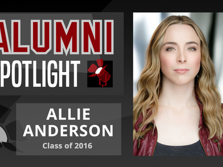 Allie Anderson: Alumni Spotlight