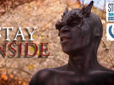 """STAY INSIDE"" World Premiere @ Student Shorts Film Festival"