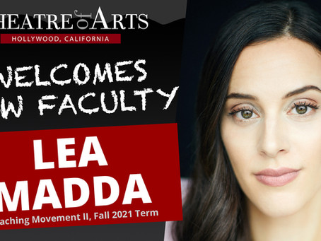 Lea Madda Joins TOA Faculty as Movement II Instructor