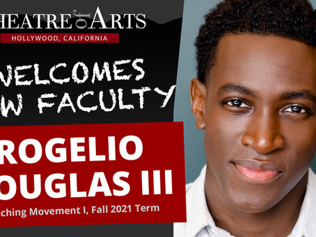 Rogelio Douglas III Joins TOA Faculty as Movement Instructor