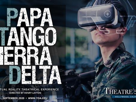 "Virtual Reality ""Papa Tango Sierra Delta"" Premieres October 2020"