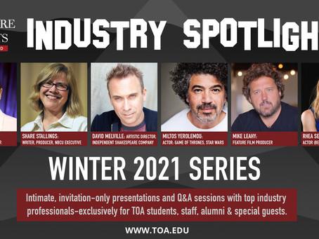 Winter 2021 Industry Spotlights Announced