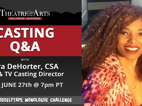 Casting and Auditioning Q&A With Zora DeHorter