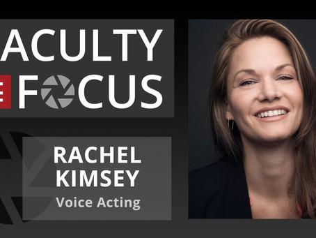 Rachel Kimsey: Faculty in Focus