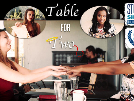 """""""Table for Two"""" World Premiere @ Student Shorts Film Festival"""