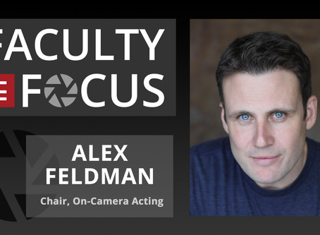 Alex Feldman: Faculty in Focus