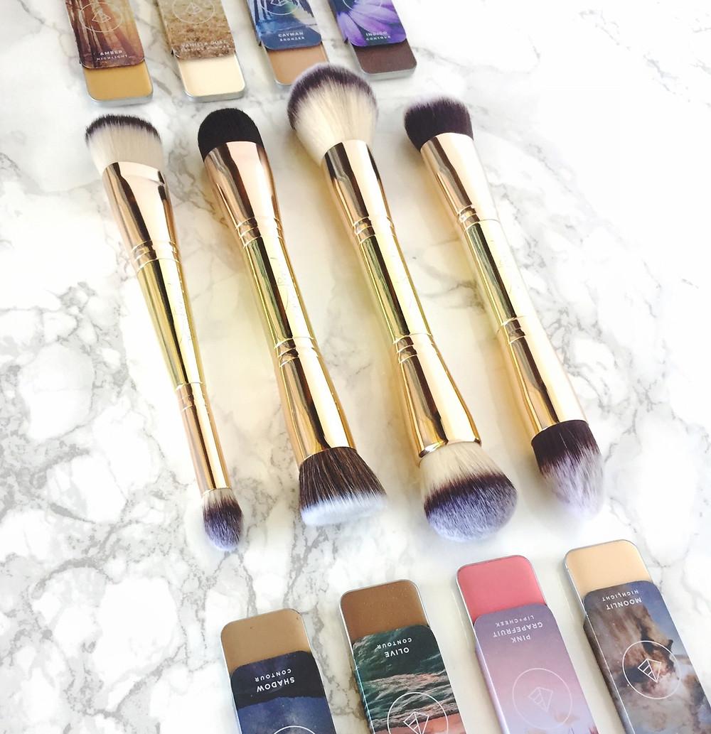maskcara makeup brushes and colors to HAC